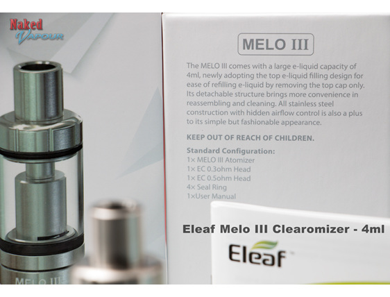 Eleaf Melo III Clearomizer - 4ml