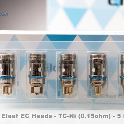 Eleaf EC Heads - TC-Ni (0.15ohm) - 5 Pack