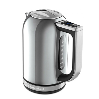 Electric Kettle - Contour Silver