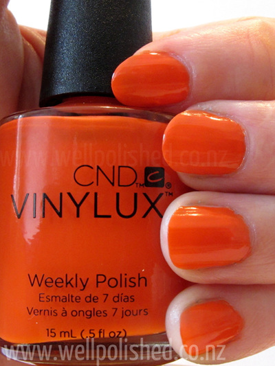 Electric Orange Vinylux