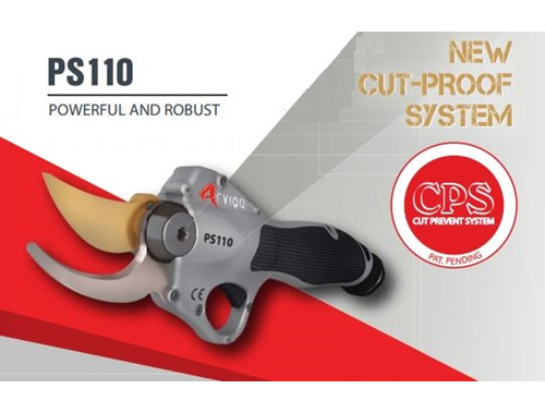 electric pruners, cut prevention, electronic pruning shears, vineyard pruning