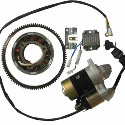 Electric start conversion kit 186F & 186FA engines
