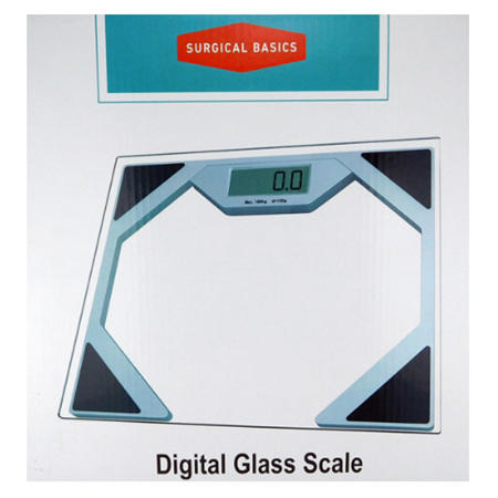 ELECTRONIC SCALE CLEAR CLASS 180KG