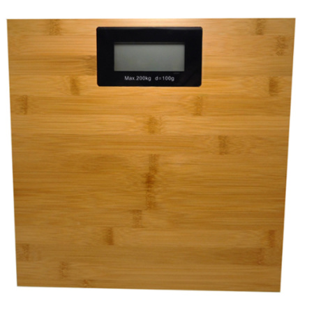 ELECTRONIC WEIGHING SCALES BAMBOO 200KG