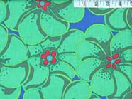 Elephant Flowers Green