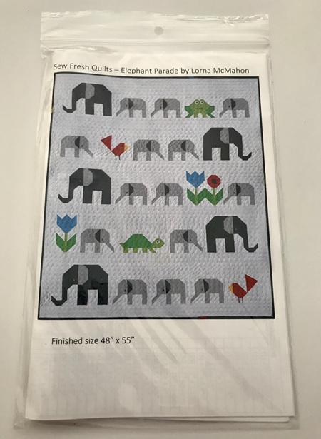 Elephant Parade Quilt Pattern