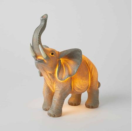 ELEPHANT SCULPTURED LIGHT CHILL LED NEON BOX LIGHT (BATTERY+USB)