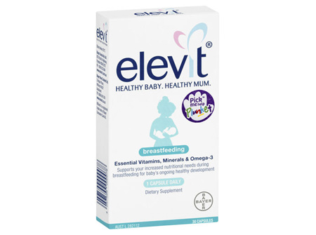 Elevit Breastfeeding 30 Caps