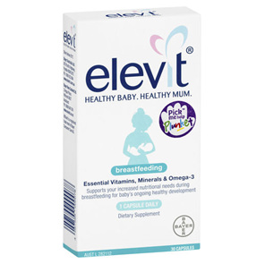 Elevit Breastfeeding 30 Caps