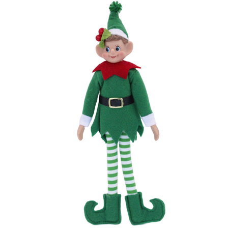 Elf - green - poseable