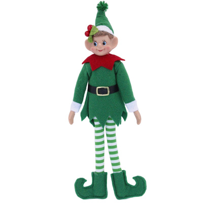 Elf - green - poseable