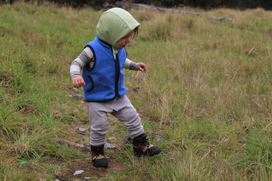 Elimination Communication split crotch pants while hiking nz