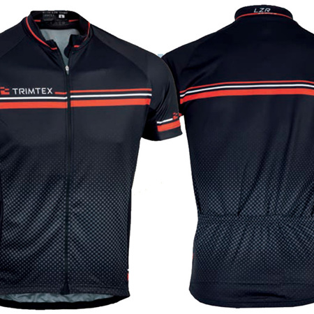 Elite Cycling Shirt, Black / Red