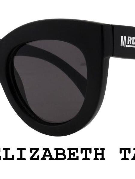 Elizabeth Taylor Sunnies- Black Chunkies