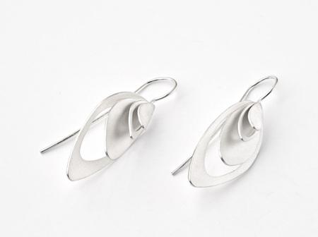 Ellipsis Wire Earrings