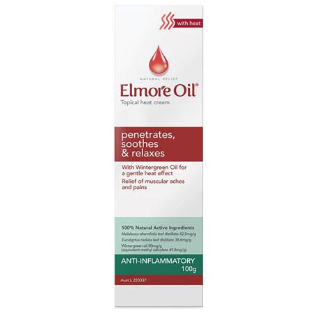 Elmore Oil Anti-Inflammatory Heat Cream 100G