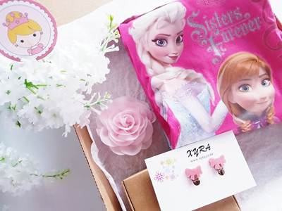 Elsa and Anna Box