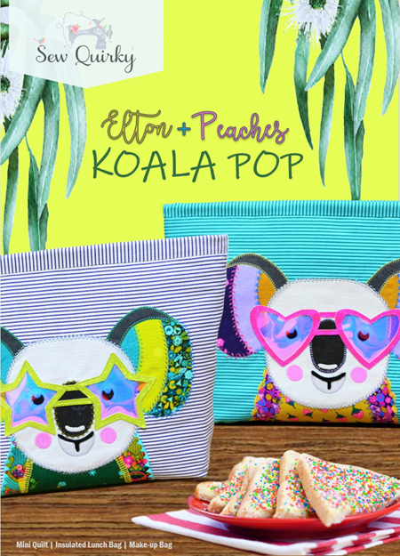 Elton & Peaches Koala Pop Pattern