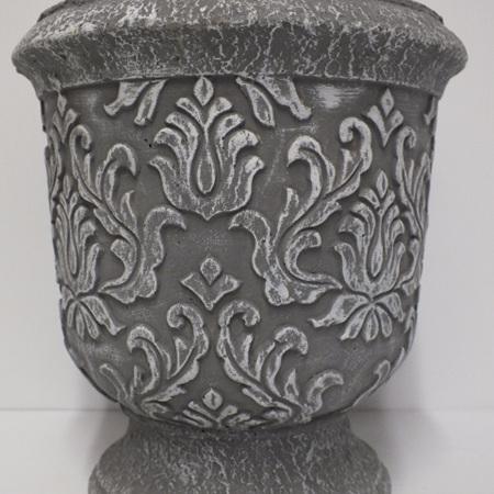 Embossed Pedestal container C3238