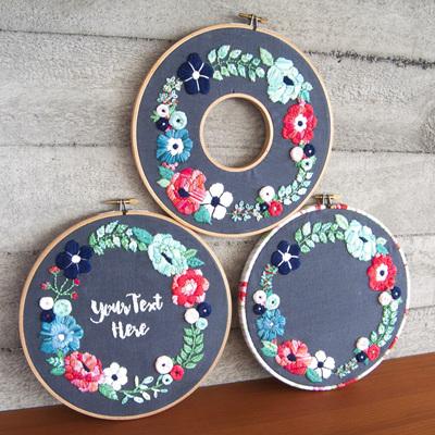 embroidery KITS-preprinted fabric