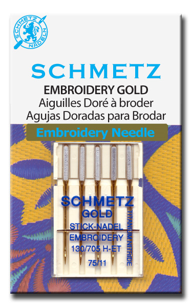 Embroidery Needles Gold