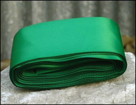Emerald Wedding Car Ribbon