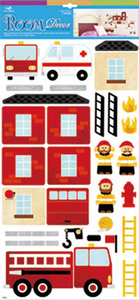 Emergency Services Wall Decal