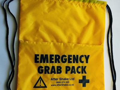 """Emergency Survival """"Grab Bag"""""""