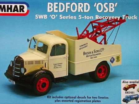"Emhar 1/24 Bedford ""OSB"" SWB ""O"" Series 5 Ton Recovery Truck"