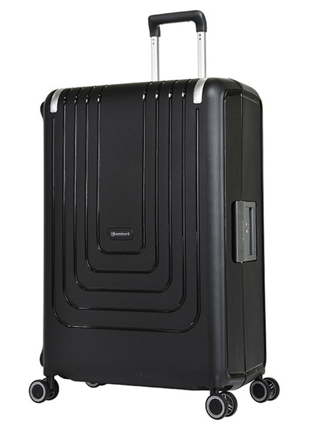 Eminent Lock Lite Hard Shell Case Luggage Size L Blk