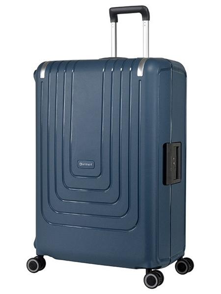 Eminent Lock Lite Hard Shell Case Luggage Size M Navy