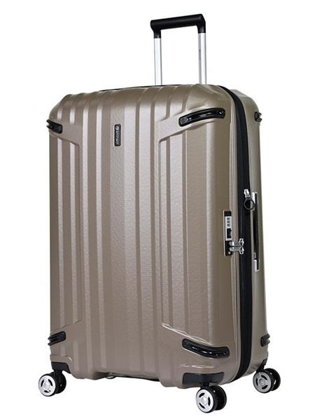 Eminent TPO Hard Case Luggage Size M Champagne