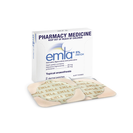 EMLA Patch 5% 2-pack
