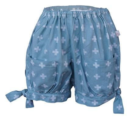'Emma' Hem-Tie Shorts