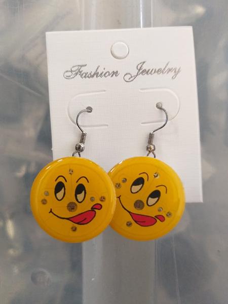 Emoji Flashing Earrings