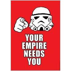 Empire Fridge Magnet