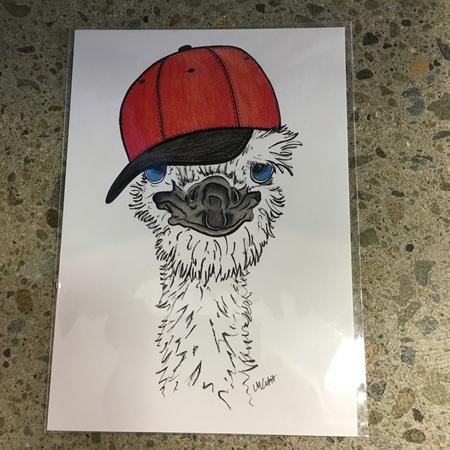 Emu - Prints