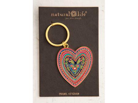 Enamel Keychain-Heart