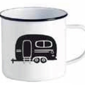 Enamel Mug Ka Pai Kiwi - Retro Caravan