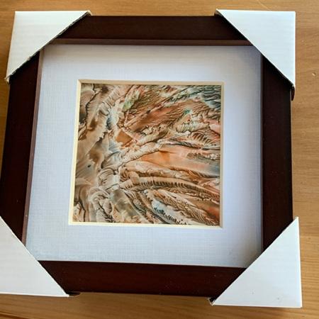 Encaustic (Wax) Framed Art - small