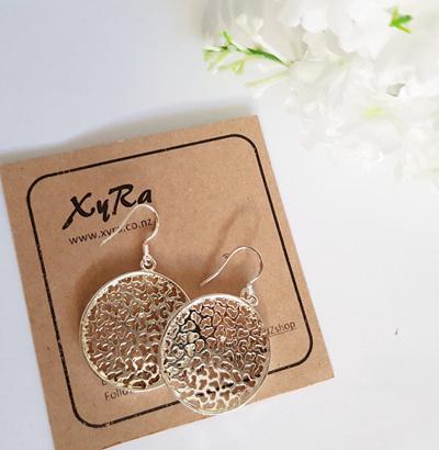 Enchant Circle Earrings
