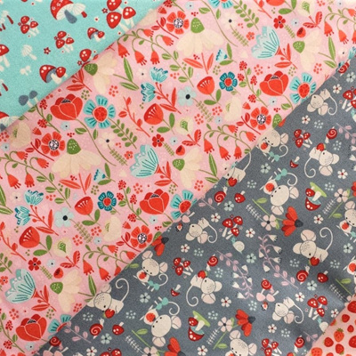 Enchanted Forest - Fat Quarter or Half Metre Pack