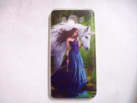 Enchanted Pool Cell Phone Cover For Samsung Galaxy J7