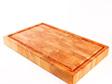 End Grain Board with Juice Groove Macrocarpa