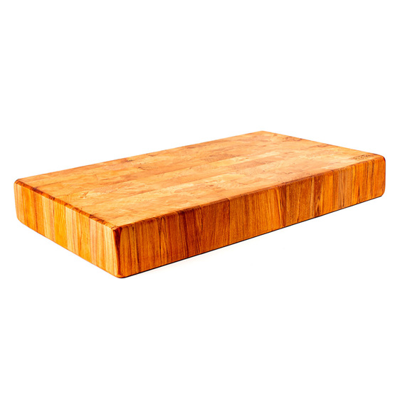 end grain chopping board - heart rimu