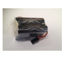 Eneloop XX Pro 4.8v 2500mAh Reciever  NiMh Square pack