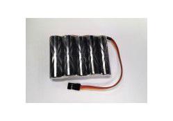 Eneloop XX Pro 6.0v 2500mAh Reciever  NiMh flat pack