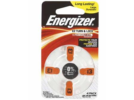 Energizer Batt H/Aid AZ13 4pk