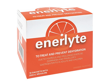 ENERLYTE Rehydration Salts 10 Sachets