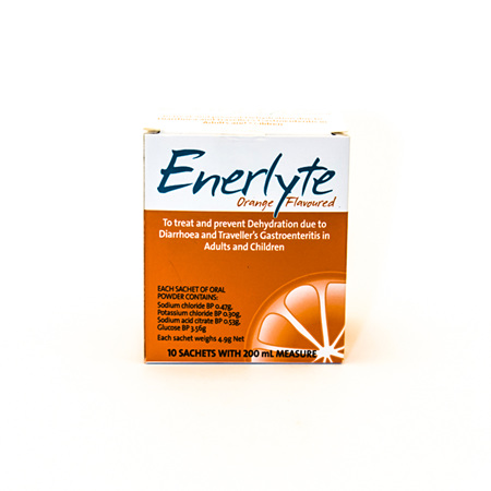 Enerlyte Sachets - Orange